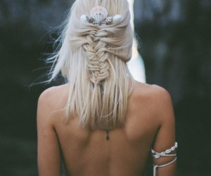 blonde, cool, and nature image