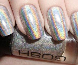 nails, nail polish, and gosh image