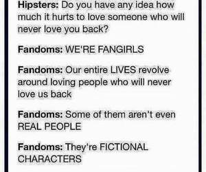 fangirls, books, and fandom image