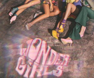 wonder girls, kpop, and aesthetic image