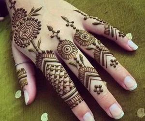 beautiful, design, and henna image