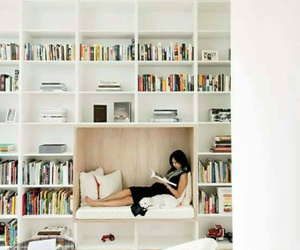 books, home, and reading image