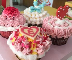 cooking, cupcake, and sweet image