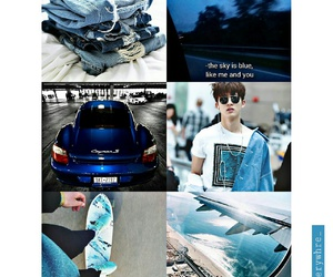 bi, blue, and Moodboards image