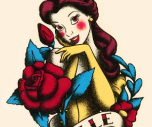 disney, art, and beauty and the beast image