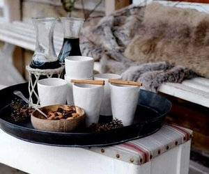 winter and coffee image