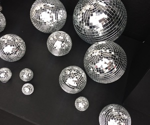 shine, balls, and disco image