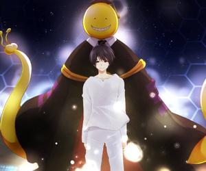 assassination classroom, korosensei, and anime image