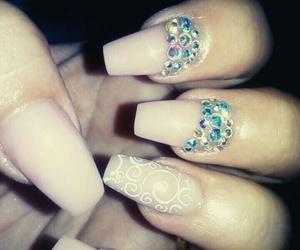 nails, natural, and star image