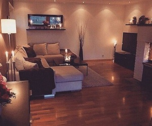 home, house, and living room image