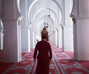 mosque, islam, and moroccan image