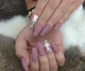 nails, beautiful, and makeup image