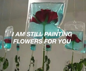 all time low, alltimelow, and painting flowers image