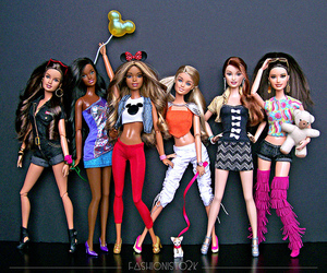 barbie and her friends image