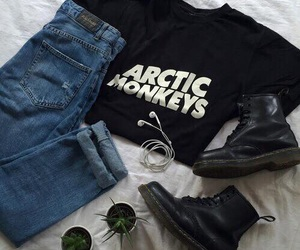 arctic monkeys, indie, and outfit image