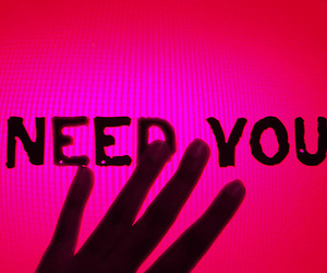 pink, need you, and love image