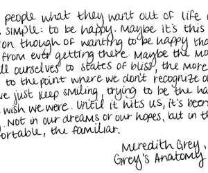 Greys, happy, and quotes image