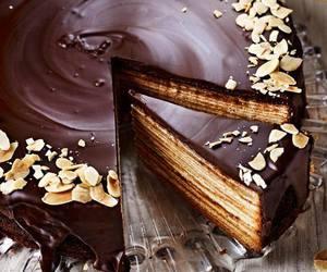 cake, chocolate, and yummy image