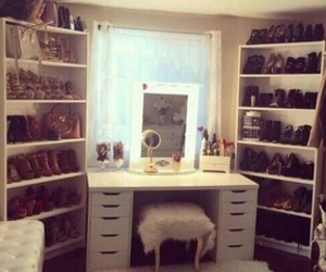 shoes, makeup, and decor image