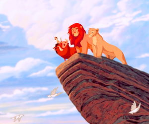 the lion king, disney, and simba image