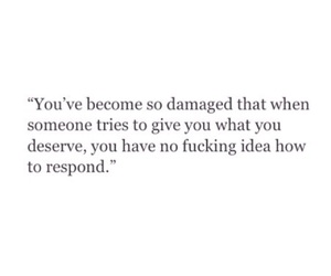 broken, damaged, and quote image
