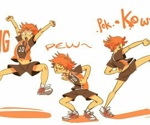 haikyuu and hinata shouyou image