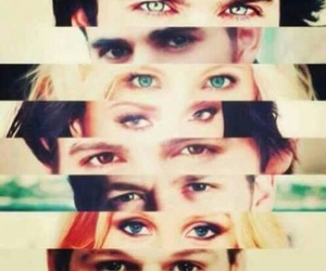 tvd, eyes, and the vampire diaries image