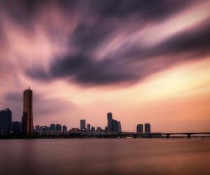 city, seoul, and travel image