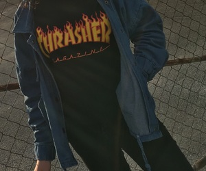 brand and trasher image