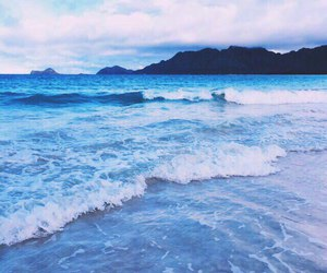nature, blue, and sea image