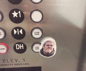 game of thrones, hold the door, and hodor image