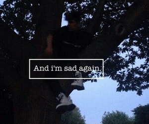 sad, grunge, and quotes image