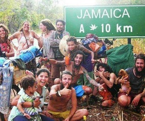 jamaica, marijuana, and weed image
