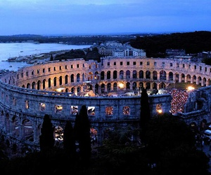 arena, Croatia, and places image