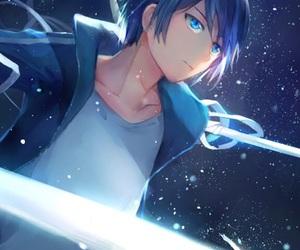 anime, blue eyes, and anime boy image