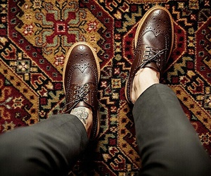 shoes and men image