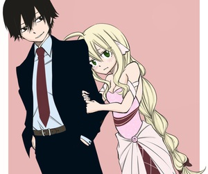 fairy tail, mavis, and zeref image