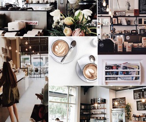 coffee, coffee shop, and inspiration image