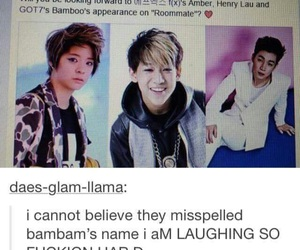 bambam and got7 image