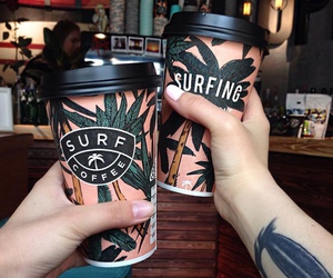 coffee, summer, and tumblr image