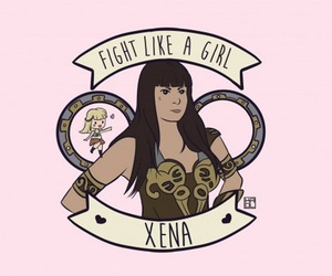 xena, feminism, and fight like a girl image