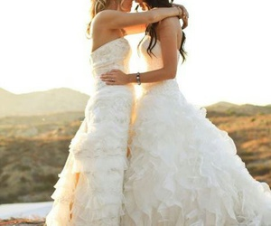 lesbian, wedding, and marriage image