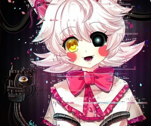 mangle, five nights at freddy's, and fnaf image