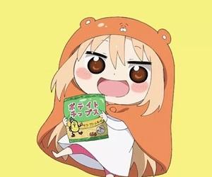 anime, kawaii, and umaru-chan image