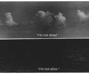 dead, alive, and sad image