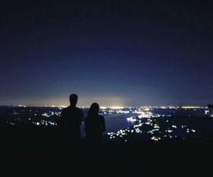 city, couple, and escape image