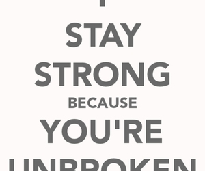 demi lovato, stay strong, and unbroken image