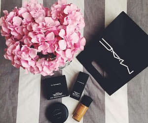 beauty, bed, and cosmetics image