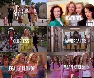 grease, Clueless, and Heathers image