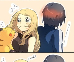pokemon, pikachu, and kiss image